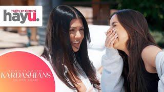 Kourtney Has A New Best Friend And It's Addison Rae! | Season 20 | Keeping Up With The Kardashians Screenshot