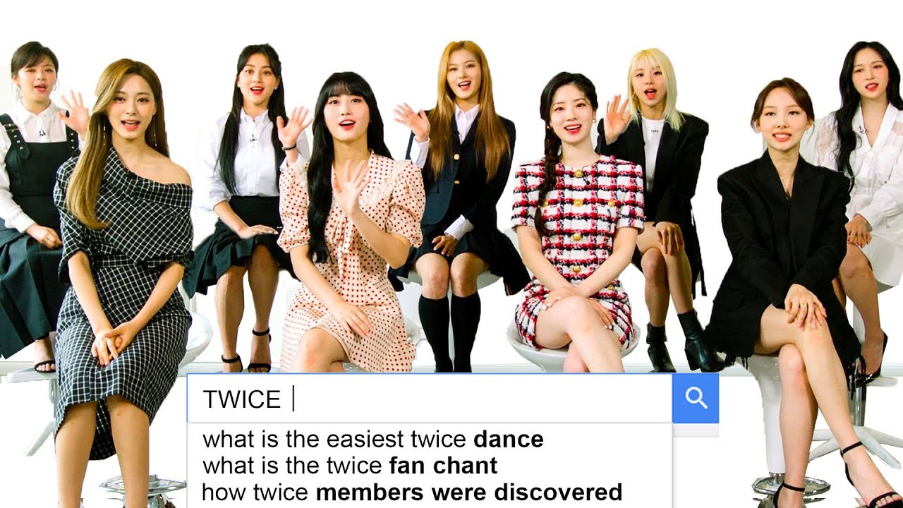 TWICE Answer the Web's Most Searched Questions WIRED HD quality image