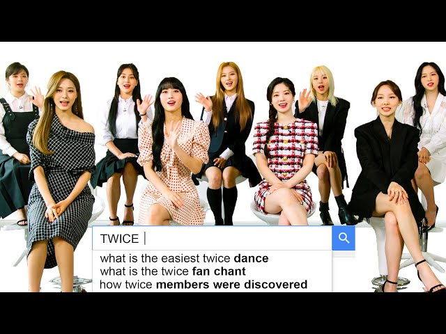 TWICE Answer the Web's Most Searched Questions WIRED HQ quality image