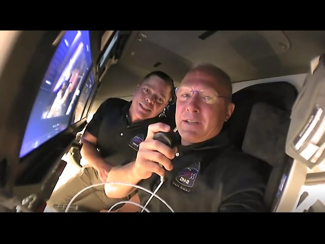 Tour from Space: Inside the SpaceX Crew Dragon Spacecraft on Its Way to the Space Station HQ quality image