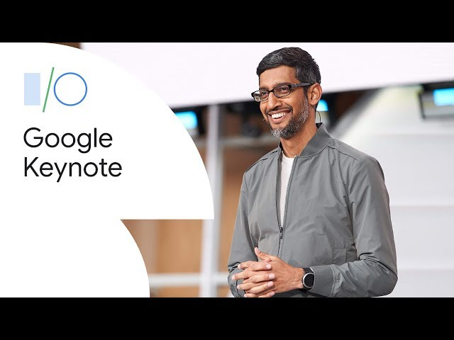 Google Keynote (Google I/O'19) HQ quality image