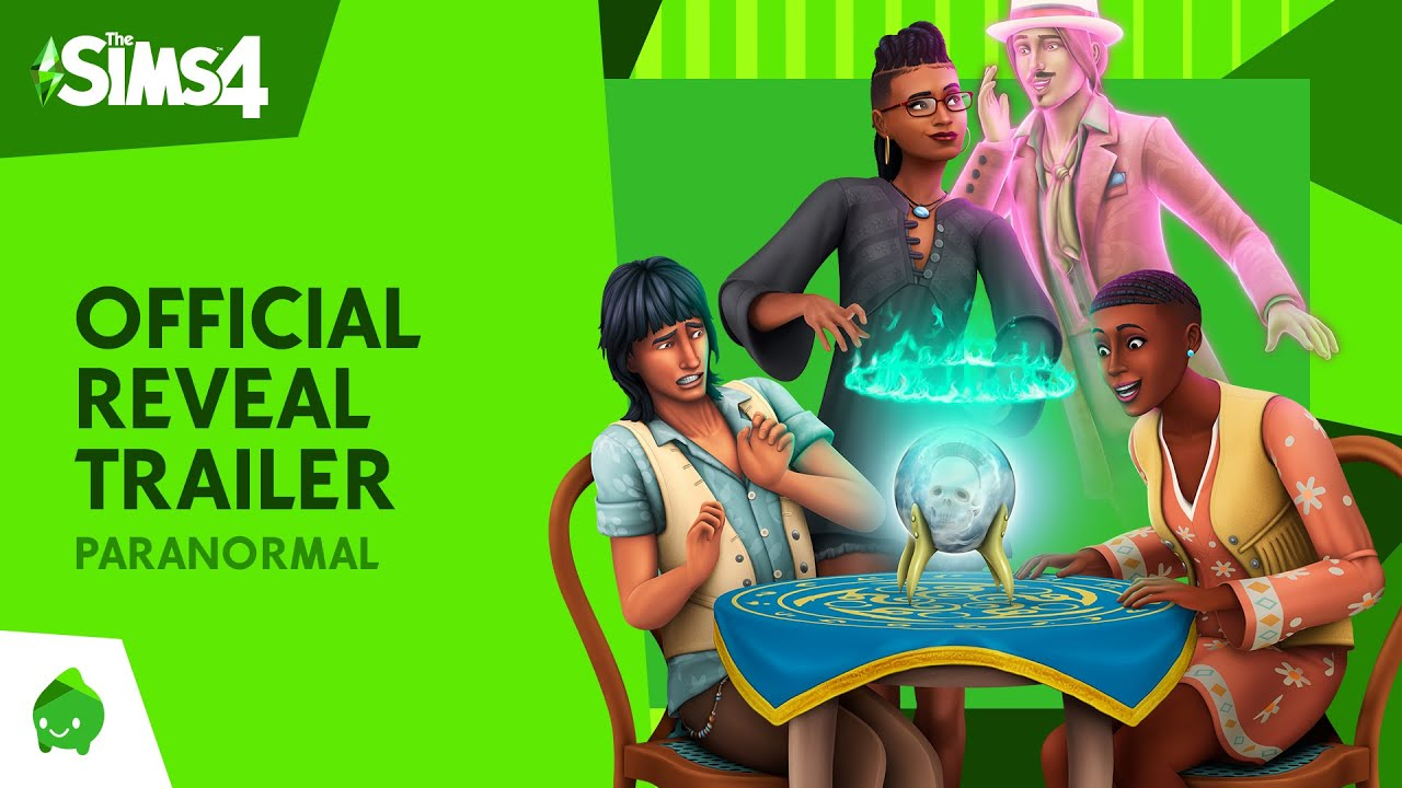 The Sims 4 Paranormal Stuff Pack: Official Reveal Trailer HD quality image