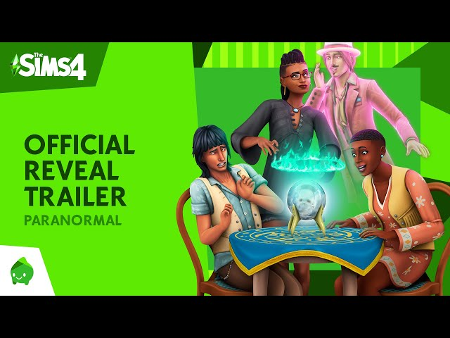 The Sims 4 Paranormal Stuff Pack: Official Reveal Trailer HQ quality image