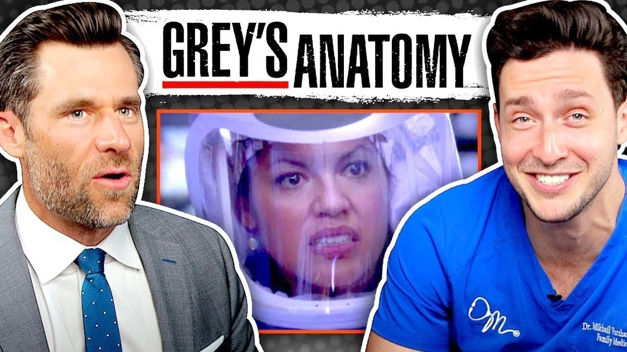 Doctor and Lawyer React To Greys Anatomy Malpractice Episode HD quality image