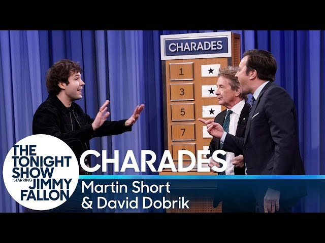 Charadeswith Martin Short and David Dobrik HQ quality image