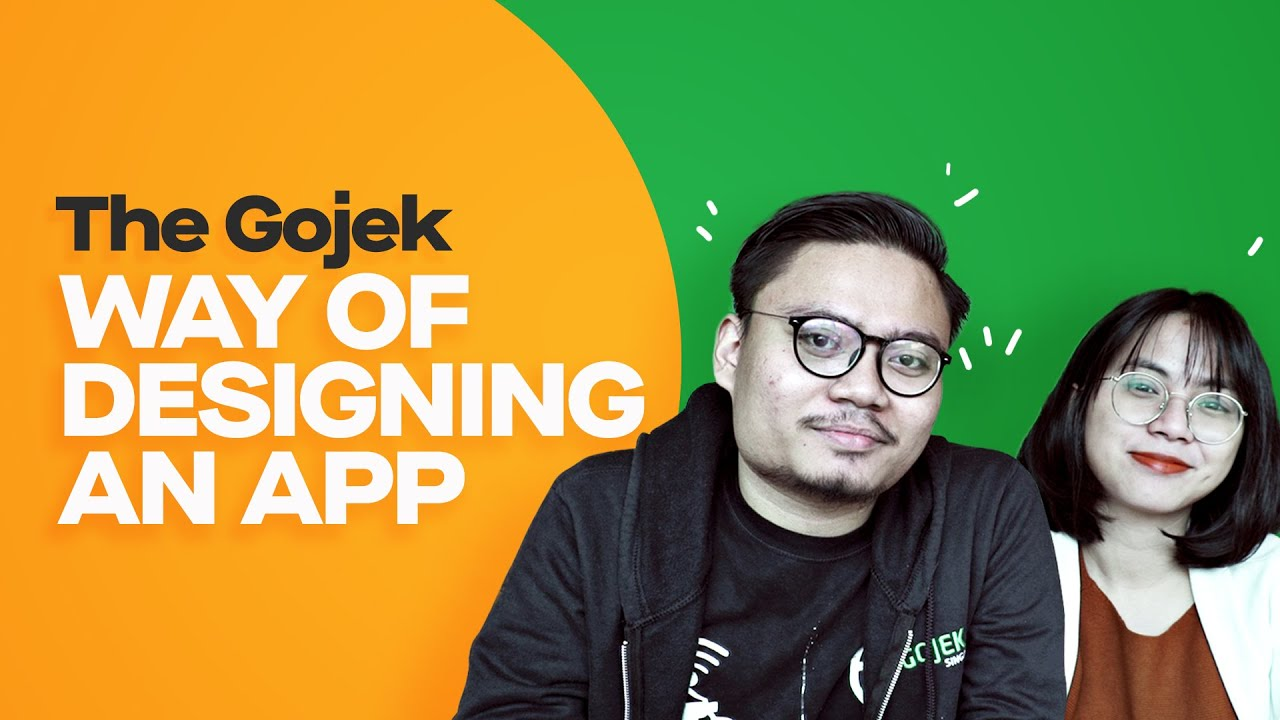 The Gojek way of designing an app HD quality image