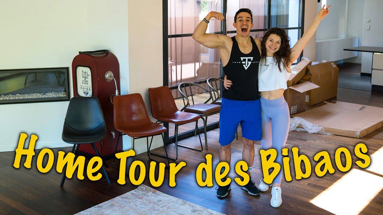 NOTRE NOUVELLE MAISON ! (Home Tour des Bibaos) ft. @Tibo InShape HD quality image