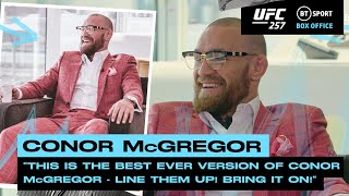 Line them up! Bring it on! Conor McGregor ready to takeover the lightweight division UFC 257 MD quality image