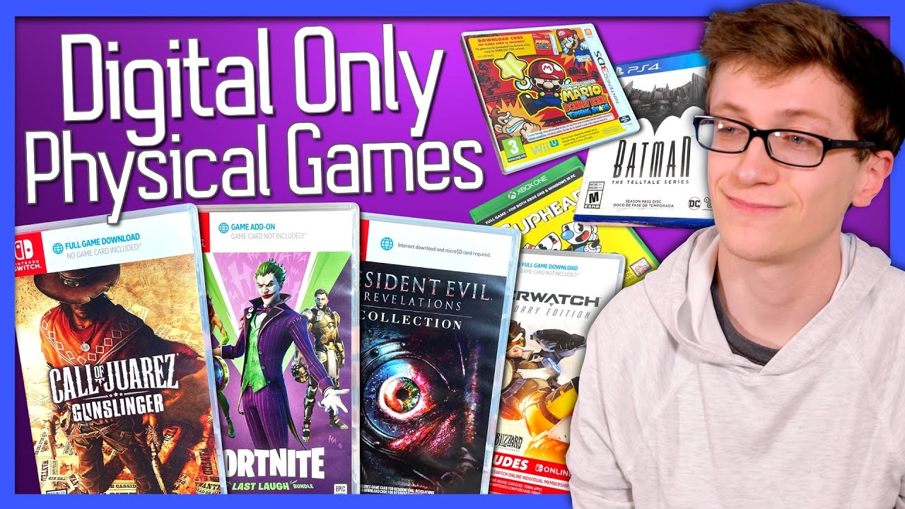 Digital Only Physical Games - Scott The Woz HD quality image