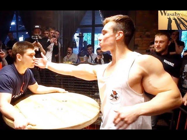 Russian Slap Championship 2019. Slap Off Contest Knockouts HQ quality image