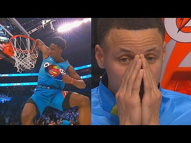 2019 NBA Slam Dunk Contest Full Game Highlights! 2019 NBA All-Star Weekend HQ quality image