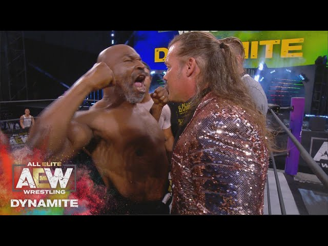 WHAT HAPPENED WHEN MIKE TYSON STEPPED INTO THE AEW RING? AEW DYNAMITE 5/27/20, JACKSONVILLE, FL HQ quality image