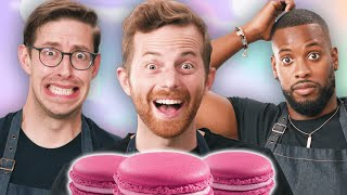 The Try Guys Bake Macarons Without A Recipe MD quality image