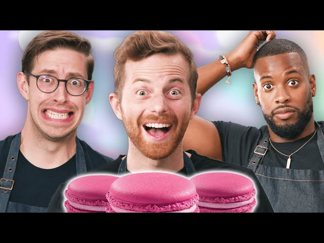 The Try Guys Bake Macarons Without A Recipe HQ quality image