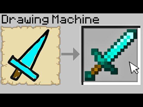 Minecraft Bedwars but if you draw diamond items, you get them... MQ quality image