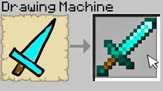 Minecraft Bedwars but if you draw diamond items, you get them... MD quality image