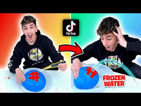 EASY TikTok Life Hacks To Do When You're BORED! **they actually work** MQ quality image