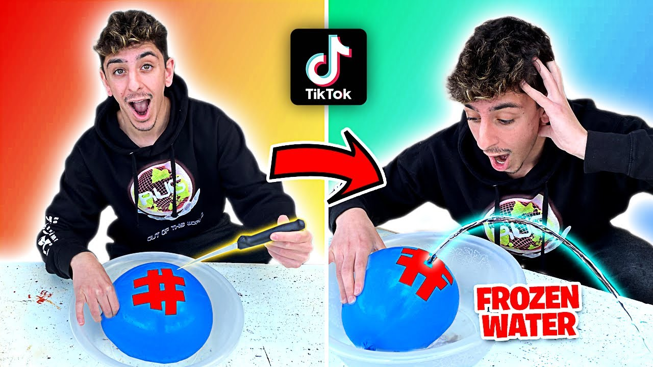 EASY TikTok Life Hacks To Do When You're BORED! **they actually work** HD quality image