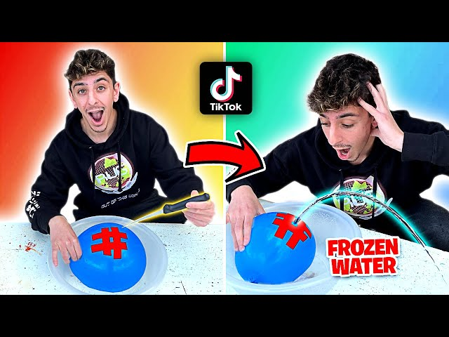 EASY TikTok Life Hacks To Do When You're BORED! **they actually work** HQ quality image