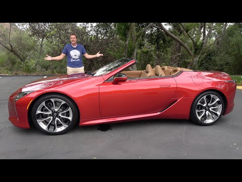 The 2021 Lexus LC500 Convertible Is the Coolest Car Nobody Will Buy MQ quality image