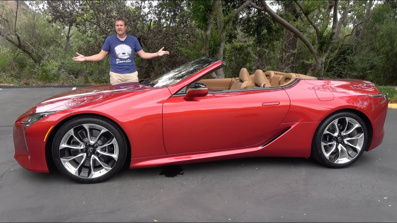 The 2021 Lexus LC500 Convertible Is the Coolest Car Nobody Will Buy HD quality image
