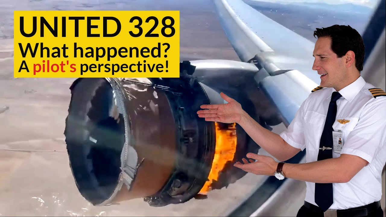 UNITED 328 Engine Failure! WHAT CHECKLISTS did the pilots use? Explained by CAPTAIN JOE HD quality image