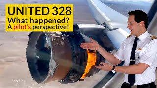 UNITED 328 Engine Failure! WHAT CHECKLISTS did the pilots use? Explained by CAPTAIN JOE MD quality image