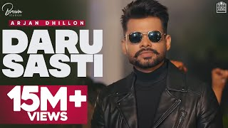 Daru Sasti (Full Video) Arjan Dhillon | The Kidd | I Can Films | Latest Punjabi Songs 2020 Screenshot