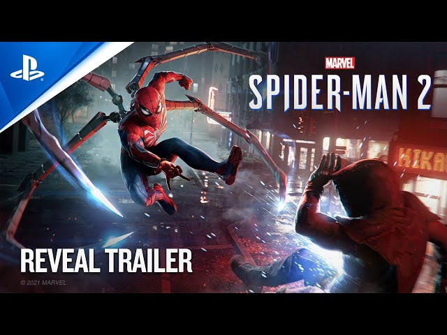 Marvel's Spider-Man 2 - PlayStation Showcase 2021: Reveal Trailer PS5 HQ quality image