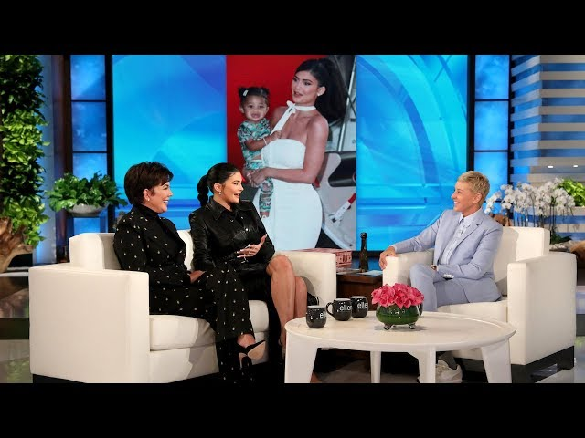 Kylie Jenner on Stormi's 'Perfect Mixture' of Her and Travis Scott HQ quality image