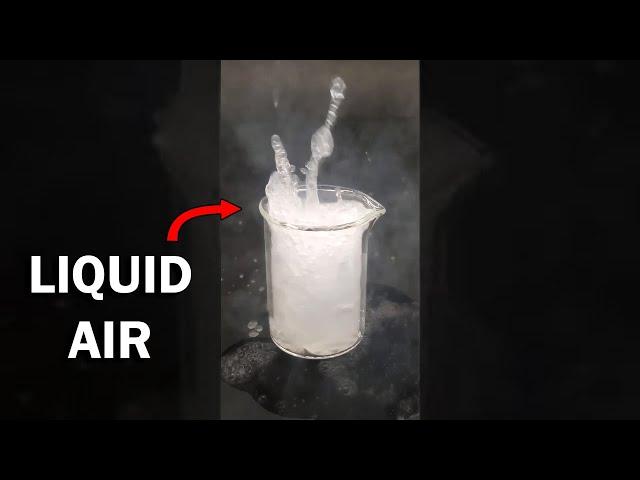 Making liquid air HQ quality image