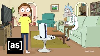Rick and Morty x PlayStation 5 Console [ad] MD quality image
