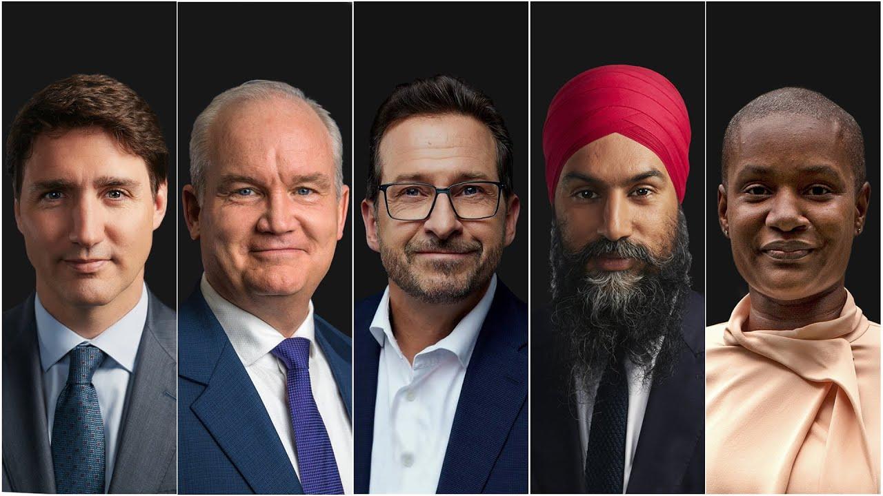 Federal Leaders' Debate 2021 HD quality image