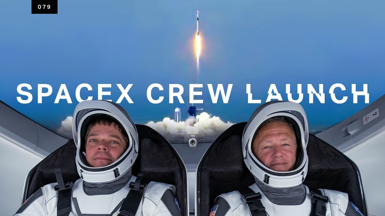 SpaceX just launched humans to space for the first time HD quality image
