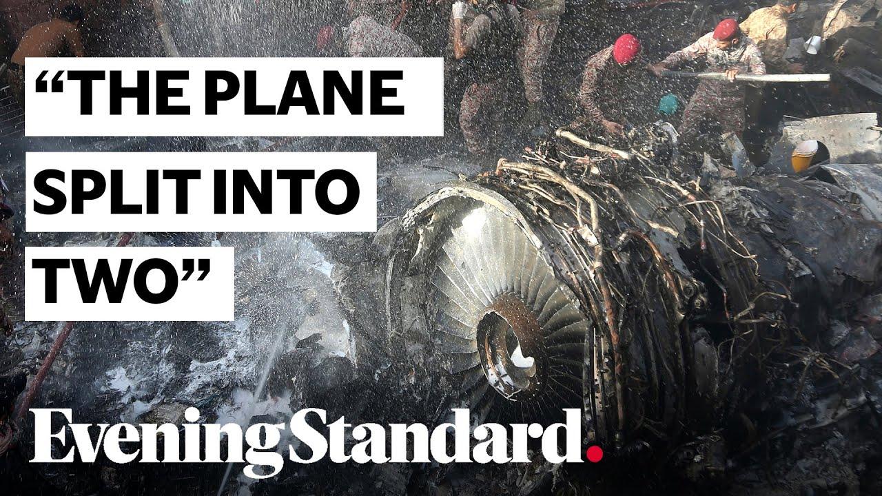 Pakistan crash: Journalist describes horrific scene in Karachi following plane crash HD quality image