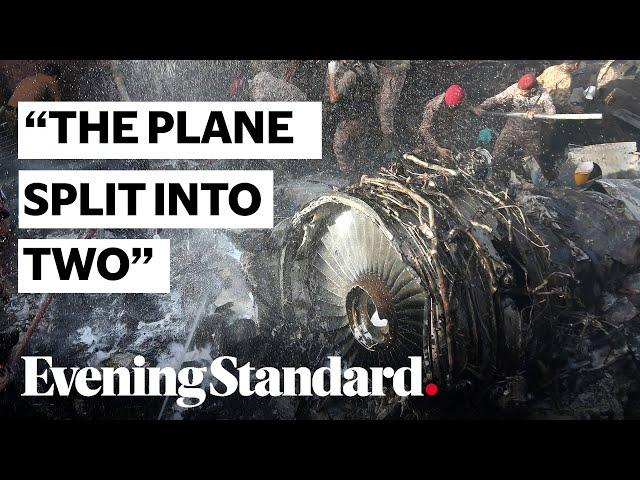Pakistan crash: Journalist describes horrific scene in Karachi following plane crash HQ quality image