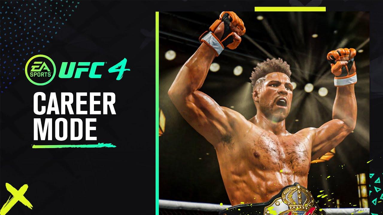 UFC 4 Official Career Mode Trailer HD quality image