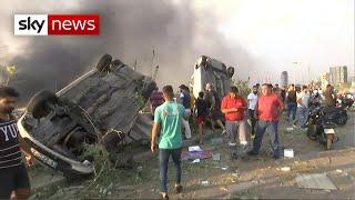 BREAKING: Huge explosion rocks Beirut Screenshot