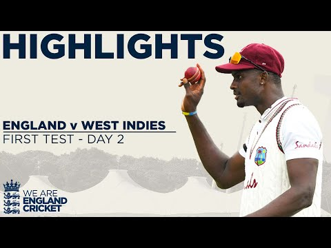 Day 2 Highlights Stunning Holder Takes Best Ever 6-42 England v West Indies 1st Test 2020 MQ quality image