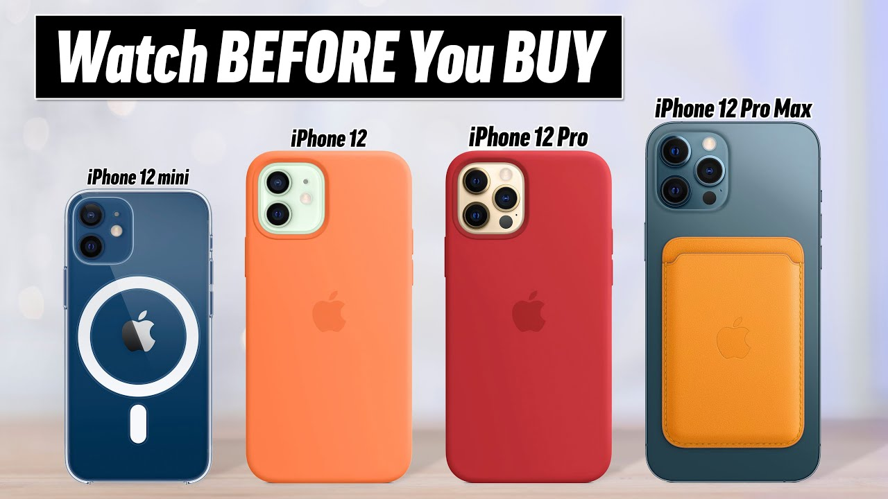 IPhone 12 Buyer's Guide - DON'T Make these 12 Mistakes! HD quality image