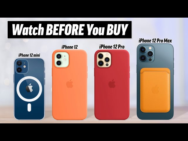IPhone 12 Buyer's Guide - DON'T Make these 12 Mistakes! HQ quality image
