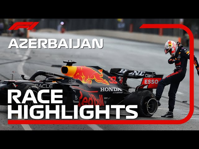 Race Highlights 2021 Azerbaijan Grand Prix HQ quality image