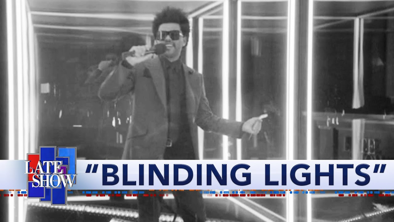 The Weeknd: Blinding Lights HD quality image