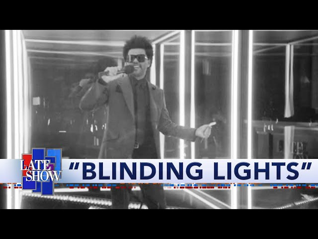 The Weeknd: Blinding Lights HQ quality image