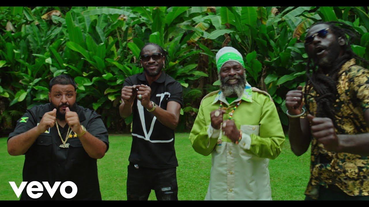 DJ Khaled - WHERE YOU COME FROM (Official Video) ft. Buju Banton, Capleton, Bounty Killer HD quality image