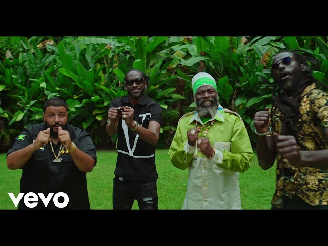 DJ Khaled - WHERE YOU COME FROM (Official Video) ft. Buju Banton, Capleton, Bounty Killer HQ quality image