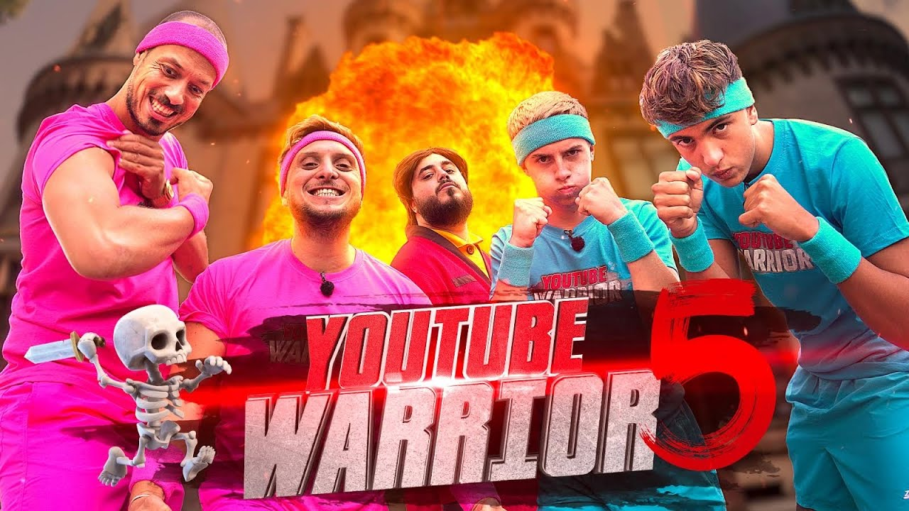 Youtube Warrior 5 vs Michou et Inoxtag feat Doigby HD quality image