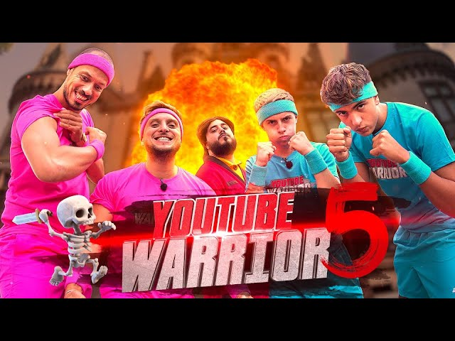 Youtube Warrior 5 vs Michou et Inoxtag feat Doigby HQ quality image