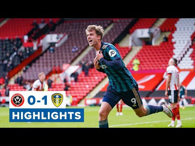 Highlights Sheffield United 0-1 Leeds United 2020/21 Premier League HQ quality image