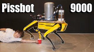 Teaching a Robot Dog to Pee Beer Screenshot